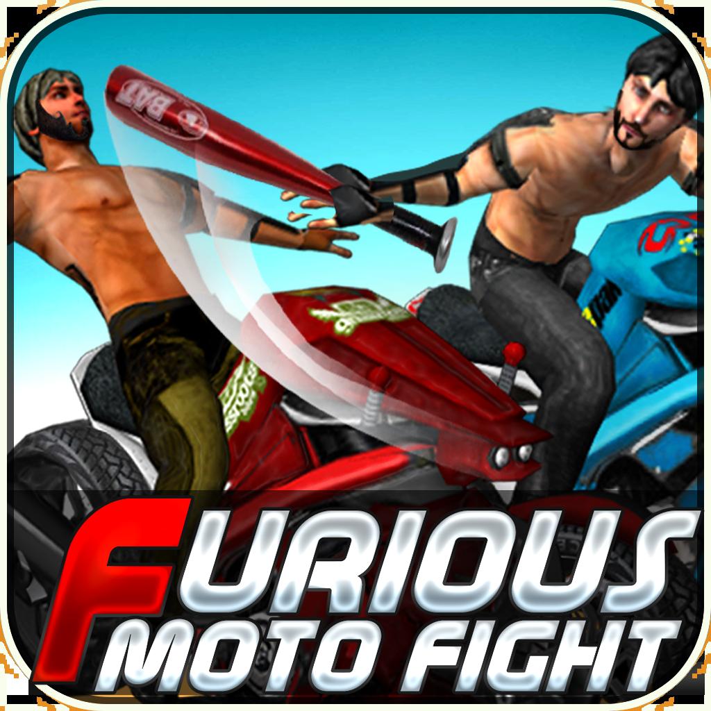 Furious Moto Fight - Rash bikers racing & fighting on Road